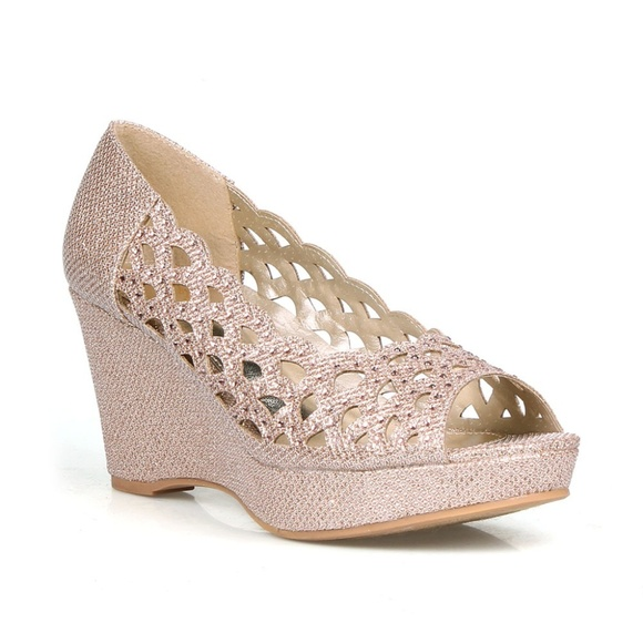Party Wedge Heels